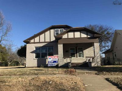 Wichita Falls Single Family Home For Sale: 1901 Hayes Street