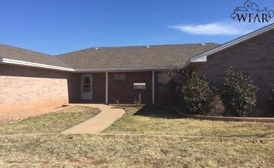 Wichita Falls Single Family Home For Sale: 3653 Wellington Lane