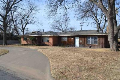 Burkburnett Single Family Home For Sale: 711 Pecan Street