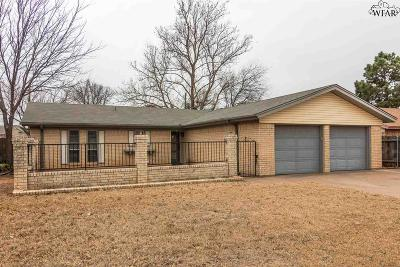 Wichita Falls Single Family Home For Sale: 5533 Briargrove Drive