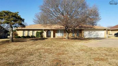 Wichita Falls Single Family Home For Sale: 6606 Southwest Parkway