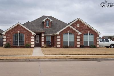 Wichita Falls Single Family Home For Sale: 1 Peyton Court