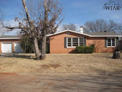 Wichita County Single Family Home For Sale: 4701 Hollandale Avenue