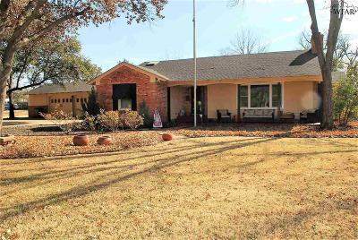 Wichita Falls Single Family Home For Sale: 1609 Weeks Street