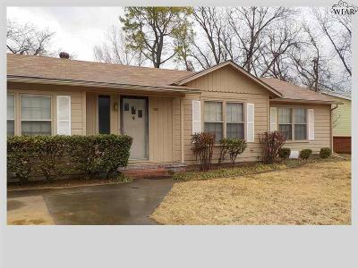 Burkburnett Single Family Home For Sale: 705 Tidal Street
