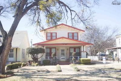 Single Family Home Active W/Option Contract: 1810 Tilden Street