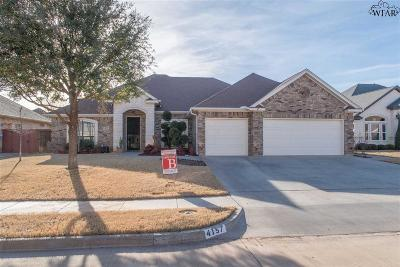 Wichita Falls Single Family Home For Sale: 4157 Candlewood Circle