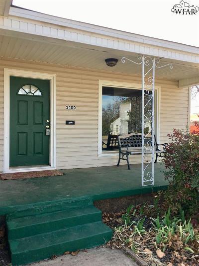 Wichita Falls TX Single Family Home For Sale: $77,500
