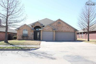 Wichita Falls Single Family Home Active-Contingency: 5414 Flo Drive