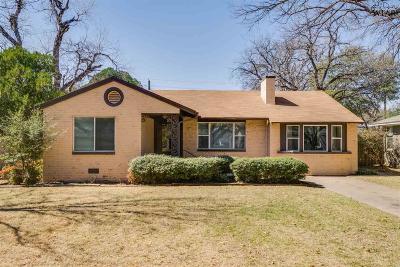 Wichita Falls TX Single Family Home For Sale: $149,900