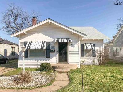 Wichita Falls TX Single Family Home For Sale: $80,000