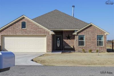 Burkburnett Single Family Home For Sale: 603 Charlotte Avenue