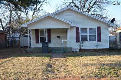 Wichita Falls TX Single Family Home For Sale: $60,000