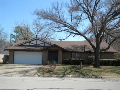 Burkburnett Single Family Home Active W/Option Contract: 1005 S Preston Road