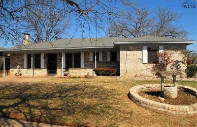 Wichita Falls TX Single Family Home For Sale: $134,000