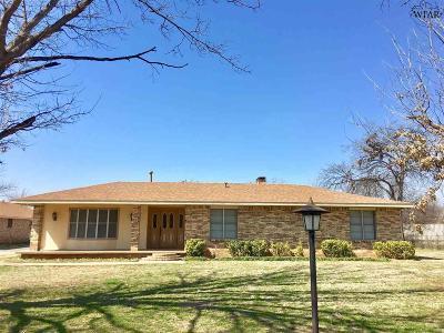 Wichita Falls TX Single Family Home For Sale: $199,500