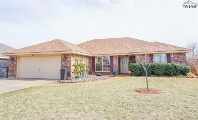 Wichita Falls TX Single Family Home For Sale: $204,900