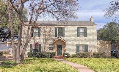 Wichita Falls TX Single Family Home For Sale: $175,000