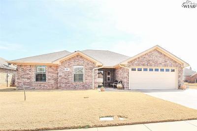 Wichita Falls TX Single Family Home For Sale: $214,900