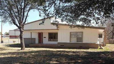 Wichita Falls TX Single Family Home For Sale: $118,000