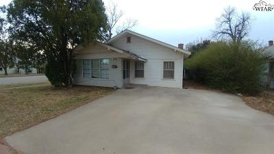 Wichita Falls Single Family Home For Sale: 1601 13th Street