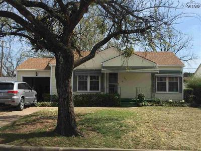 Wichita Falls Single Family Home For Sale: 301 Rockwood Drive