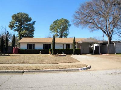 Wichita Falls TX Single Family Home For Sale: $79,900