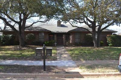 Wichita Falls Multi Family Home For Sale: 2714 Amherst Drive