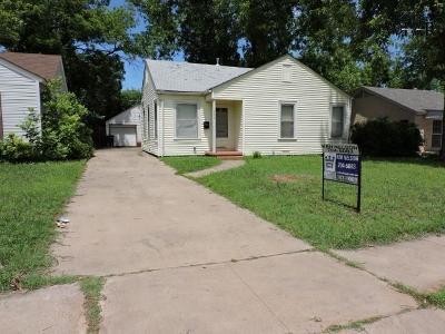 Wichita Falls TX Single Family Home For Sale: $59,000