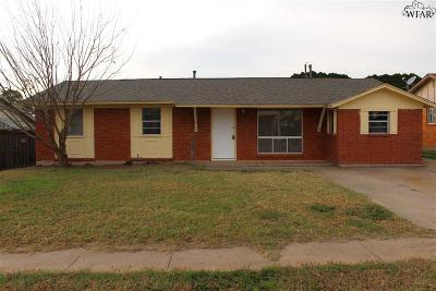 Wichita Falls TX Single Family Home For Sale: $73,000