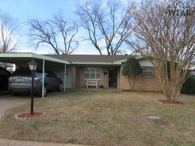 Burkburnett Single Family Home For Sale: 109 Highland Drive