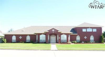 Wichita Falls Single Family Home For Sale: 5113 Lake Wellington Parkway