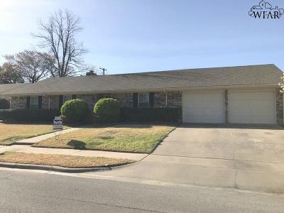 Wichita Falls TX Single Family Home For Sale: $165,000