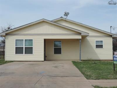 Wichita Falls Single Family Home For Sale: 908 Gerald Street