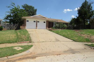 Wichita Falls Single Family Home For Sale: 5501 Page Drive