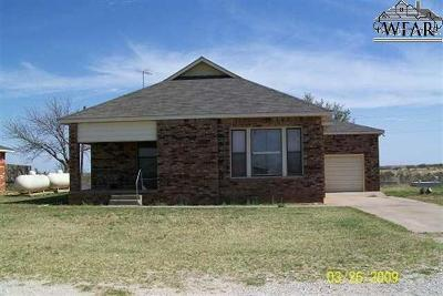 Archer City TX Rental For Rent: $675
