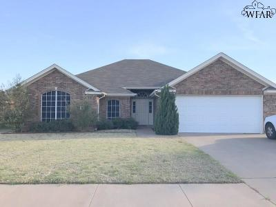 Wichita Falls Single Family Home For Sale: 6017 Sandy Hill Boulevard