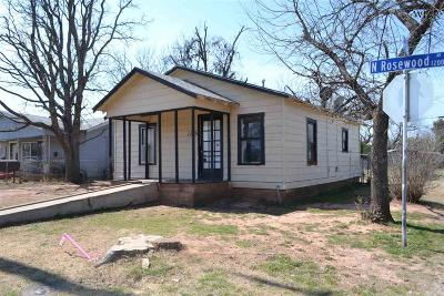 Wichita Falls Single Family Home For Sale: 1228 Rosewood Avenue