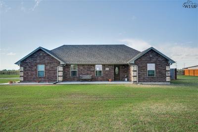 Wichita Falls Single Family Home For Sale: 1604 Fm 1177