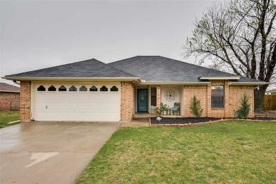 Burkburnett Single Family Home Active W/Option Contract: 1306 Parliament Street