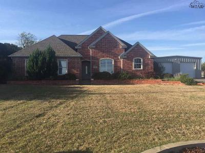 Wichita Falls Single Family Home For Sale: 3309 Onaway Trail