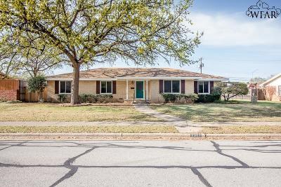 Wichita Falls Single Family Home For Sale: 2307 Barbados Drive