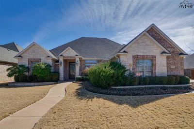 Wichita Falls Single Family Home For Sale: 4103 Shady Grove Lane