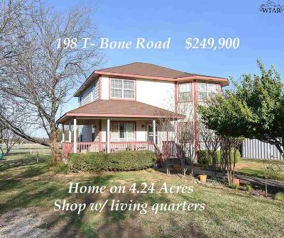 Archer County Single Family Home For Sale: 198 T-Bone Road