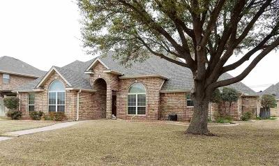 Burkburnett Single Family Home Active W/Option Contract: 1107 Oriole Lane