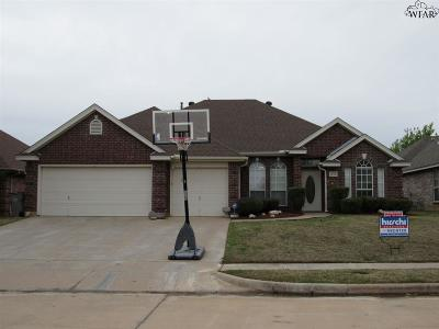 Wichita Falls Single Family Home For Sale: 4924 Legacy Drive