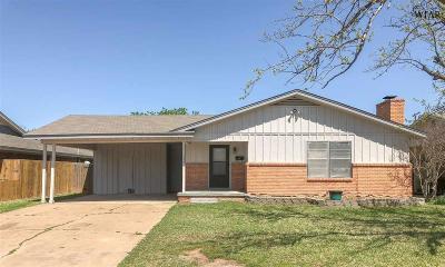 Wichita Falls Single Family Home For Sale: 1524 Aldrich Avenue