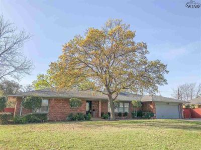 Wichita County Single Family Home For Sale: 4113 Emerson Street