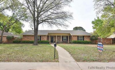 Wichita Falls Single Family Home For Sale: 4517 Tobago Street