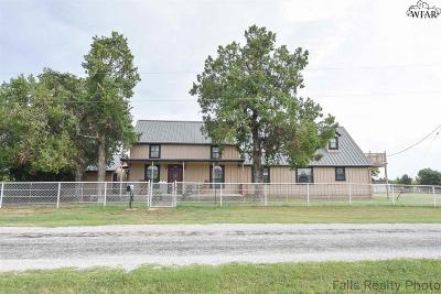 Wichita Falls Single Family Home Active W/Option Contract: 384 Newsom Road